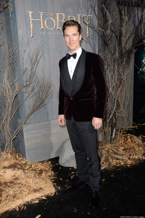 At the LA Premiere of The Hobbit | Benedict Cumberbatch News | Scoop.it