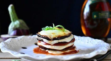 Mille feuille d'aubergines tomates et mozzarella | Cuisine Du Monde -cuisine Algerienne- recettes ramadan | Scoop.it