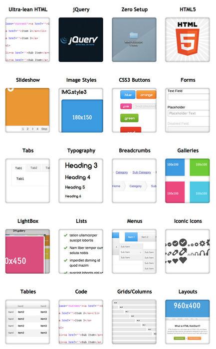 Jumpstart Your Web Project With HTML KickStart | Design Shack | Coding (HTML5, CSS3, Javascript, jQuery ...) | Scoop.it