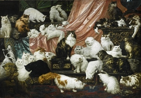 World's Greatest Cat Painting Sells For $826,000 - artnet News | Love Of Cats | Scoop.it