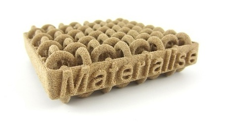 Materialise to Launch Laser Sintered Wood 3D Printing | 3D_Materials journal | Scoop.it