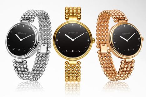 Omate Lutetia : la montre connectée dessinée pour les femmes   Interactions Design, Innovations and Technologies   Scoop.it