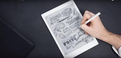 ReMarkable, la tablette-papier qui veut remplacer les cahiers - Tech - Numerama | Veille générale et Pédagogique | Scoop.it