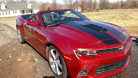 5th gen red 2014 2SS Chevrolet Camaro convertible For Sale - CamaroCarPlace | Automobiles | Scoop.it