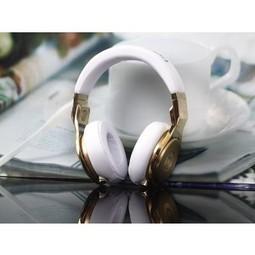 Monster Pro Beats 24K Gold White Headphones MB234 | beats headphones 24k gold outlet | Scoop.it