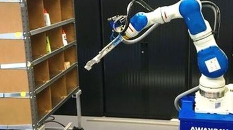 Robot arm wins Amazon's tech award: a new age of eCommerce improvement is coming | Digital Transformation of Businesses | Scoop.it