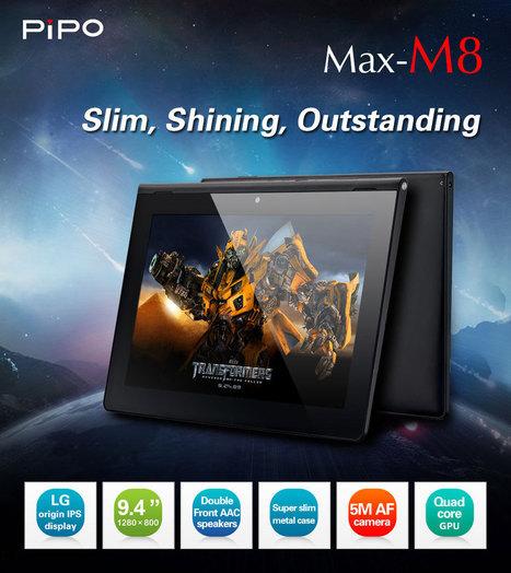 Tablette PIPO MAX M8 - 9.4 pouces | Tablettes tactiles | Scoop.it