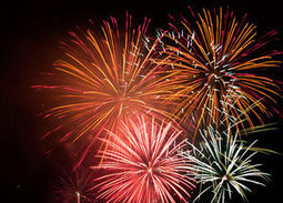 How do fireworks get their colors? | Human World | EarthSky | Chemistry | Scoop.it