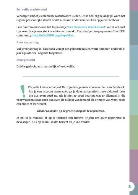 Veilig op Facebook.pdf - Support sCoolEDU | Mediawijsheid de Korre | Scoop.it