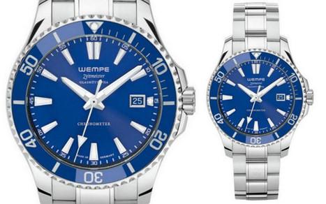 Wempe Zeitmeister Glashütte Divers Watches   Watch Magazine   Scoop.it
