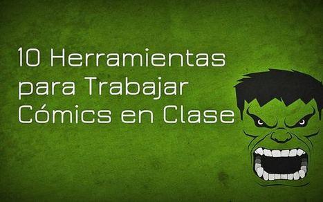 10 Herramientas para Trabajar Cómics en Clase | Artículo | Las TIC en el aula de ELE | Scoop.it