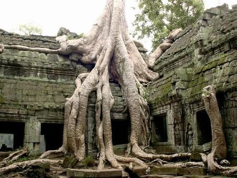 Le Cambodge et les «visages énigmatiques, sculpté dans la pierre | Circuits et voyages Cambodge | Scoop.it