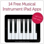 14 Free Musical Instrument iPad Apps | Midnight Music | Music Apps | Scoop.it