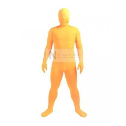 Lycra Spandex Zentai in Orange   Nefsuits   Scoop.it