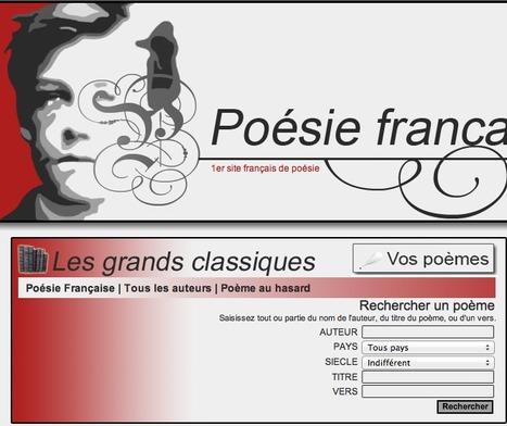 Les grands poèmes classiques - Poésie française - Tous les poèmes - Tous les poètes | Remue-méninges FLE | Scoop.it