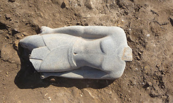 The Archaeology News Network: Statue of New Kingdom king unearthed in Luxor | Archaeology and the Bronze Age | Scoop.it