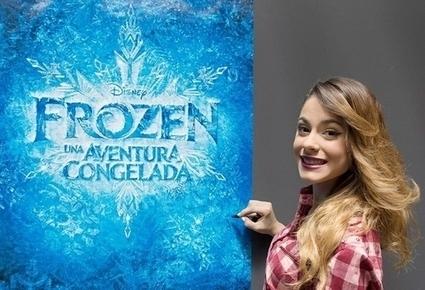 Violetta: Martina Stoessel canta in Italiano in Frozen Il Regno di Ghiaccio - bambini.eu | Il mio respiro....  il mio battito.... la mia vita....VIOLETTA! | Scoop.it