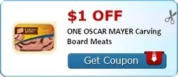 $1.00 off ONE OSCAR MAYER Carving Board Meats - Tory's This and That | BEST, Foods, and Recipes | Scoop.it