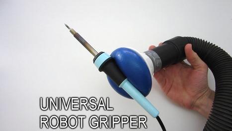 DIY Universal Robot Gripper | Open Source Hardware News | Scoop.it