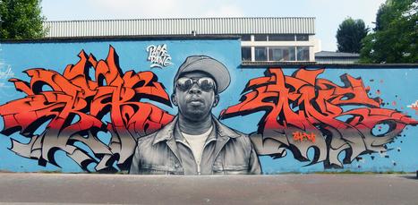 Shepard Fairey, Da Cruz, Hopare... Cet été, la crème du street-art est à Paris | Au hasard | Scoop.it