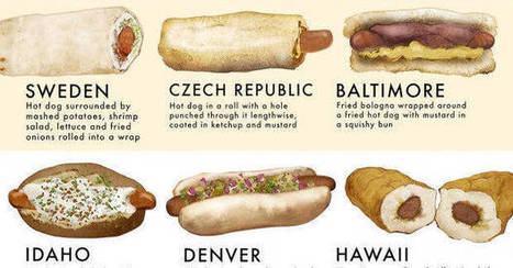 Here's How People In 40 Different Parts Of The World Eat Hot Dogs | Southmoore AP Human Geography | Scoop.it