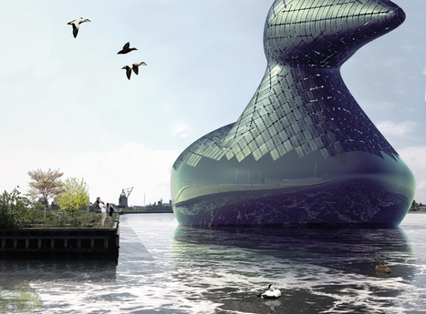 A Giant Floating Duck That Generates Solar Power—Because, Why Not?   Strange days indeed...   Scoop.it