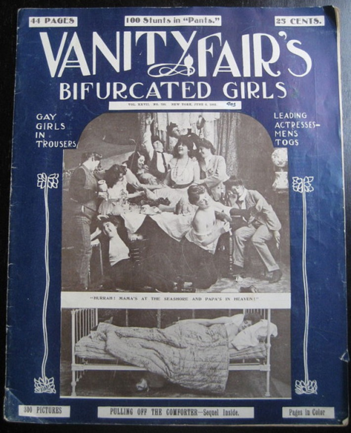 Vanity Fair's Bifurcated Girls, 1903 | Sex History | Scoop.it
