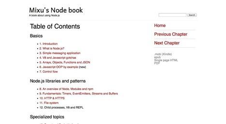 5 Ebooks gratuits pour apprendre Node.JS - Akrotux   programming   Scoop.it