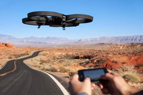 Drones : les prises de vue bientôt plus largement autorisées | qrcodes et R.A. | Scoop.it