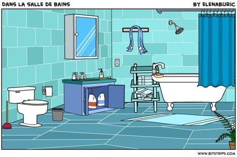 39 salle de bains 39 in ressources fle for Logiciel dessin salle de bain