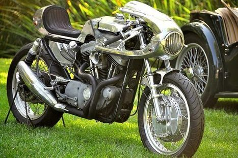 Shinya Kimura's Cafe Sportster | Cafe Racers | Scoop.it