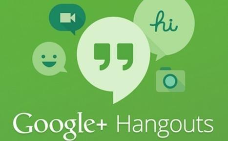 Google Hangouts permet de personnaliser les paramètres d'invitation - #Arobasenet.com   Référencement internet   Scoop.it
