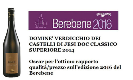 "A Verdicchio ""best in quality-price ratio"" 