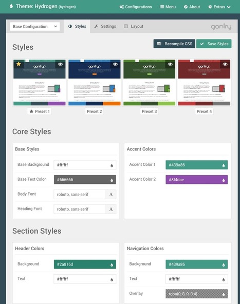 Gantry - Next Generation Theme Framework | Gantry | Web mobile - UI Design - Html5-CSS3 | Scoop.it