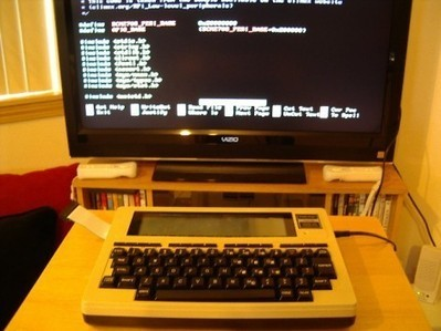 Raspberry Pi finds itself inside a TRS-80 Model 100 - Hack a Day | Raspberry Pi | Scoop.it