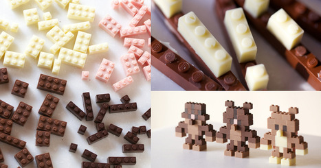 Edible Chocolate LEGOs by Akihiro Mizuuchi | MakerSpace in the School Library Media Center | Scoop.it