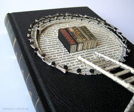 kdhart: sosuperawesome: Book sculpture by... | Writer For Life! | Book sculpture | Scoop.it