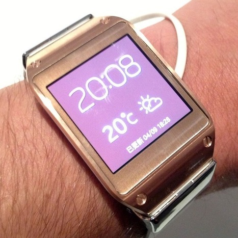 Hands On With the Samsung Galaxy Gear Smart Watch | Social Networking With Facebook | Scoop.it