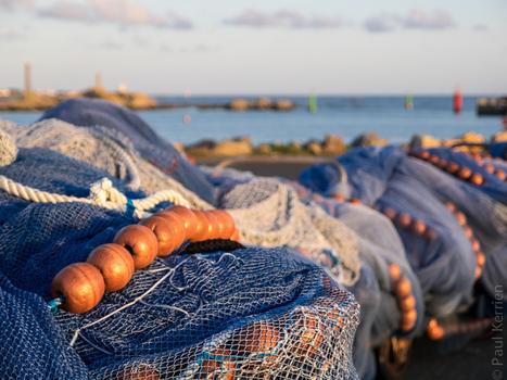 photo en Finistère, Bretagne et...: bolinche à Saint-Guénolé, le soir (3 photos) | photo en Bretagne - Finistère | Scoop.it