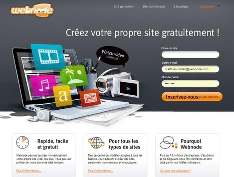 On a testé pour vous : Webnode, la nouvelle génération de créateur de site en ligne.   Cybel UNIT - Le Club Officiel des Community Managers de France   Club Officiel des Community Managers de France   Scoop.it