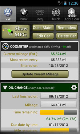 Car Maintenance Reminder Pro v3.2 | ApkLife-Android Apps Games Themes | Android Applications And Games | Scoop.it