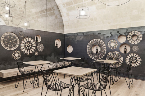 Decorative Motifs Cover The Walls Of This Italian Cafe | Amazing photography | Scoop.it