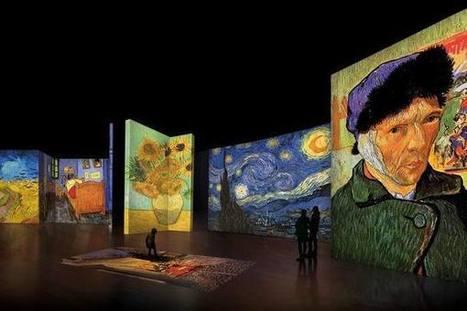 Van Gogh Alive: a Roma la mostra multimediale   La Gazzetta Di Lella - News From Italy - Italiaans Nieuws   Scoop.it