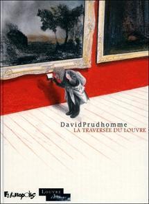 """""""La traversée du Louvre"""" de David Prudhomme  chez Futuropolis (Paris, France),Musée du Louvre (Paris, France)   David Prudhomme   Scoop.it"""
