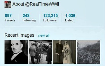 Popular World War II Twitter Account Also Available in Two More Languages | Social media marketing | Scoop.it