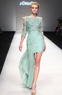 [EUR 599,99] eDressit 2013 S/S Fashion Show Fleurs A La Main Verte Robe de Cocktail Robe de Bal (F04130904) | Fashion Show | Scoop.it