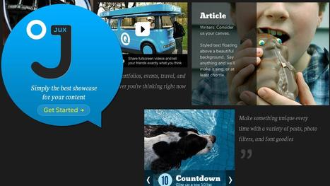 Jux - blogging from the iPad | Top sites for journalists | Scoop.it