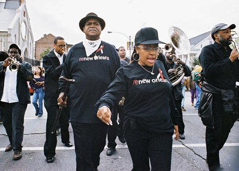 Once a Symbol of New Orleans' Resilience, the Second Line Tradition is Now Endangered | Jordan Hirsch | Slate.com | Digital Media Literacy + Cyber Arts + Performance Centers Connected to Fiber Networks | Scoop.it