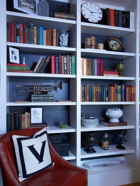 Library Shelf Design Ideas, Pictures, Remodel and Decor | personalinterests | Scoop.it