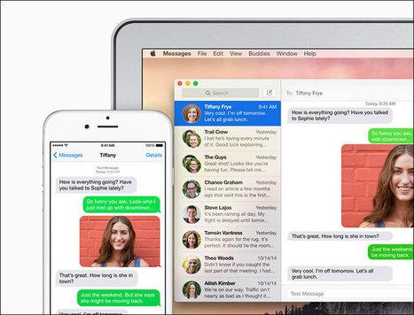 Como ativar o Encaminhamento de Mensagens do seu iPhone para o seu Mac | Apple iOS News | Scoop.it